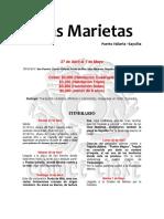Itinerario IslasMarietas Sayulita Mayo2018