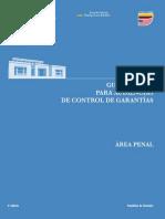 GUÍA JUDICIAL PARA AUDIENCIAS DE CONTROL DE GARANTÍAS