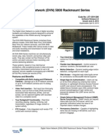 Digital Vision Network (DVN) 5000 Rackmount Series Product Bulletin