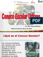 Clase Conuco Escolar Urbano 15-03-2018