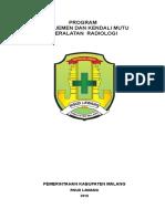 Program Manajemen & Kendali Mutu Radiologi