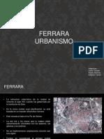 Presentacion Urbanismo Ferrara