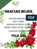 Gracias Mujer 1