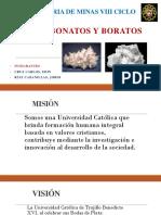 Carbonatos y Boratos