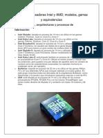 Guía de Procesadores Intel y AMD