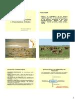Ecología de Poblaciones I Propiedades y Atributos