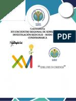 Convocatoria XVI Encuentro Regional_revisada