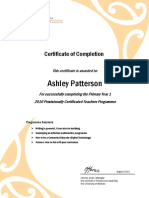 certificate template - pcts