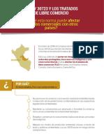 Impacto de la Ley 30723 sobre carreteras en la Amazonía en Tratado de Libre Comercio