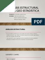 Análisis Estructural de La Geo Estadística (1)