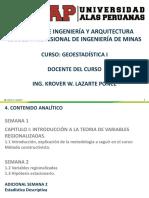 Geoestadistica i Uap Ing. Minas Semana 2 Adicional-2
