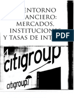 1 Entorno Financiero Mercado e Instituciones