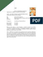 Coordination Chemistry With Phosphorus Dendrimers.