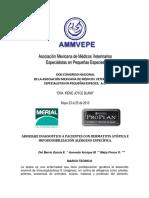 DIAGNOSTICO A PACIENTES CON DERMATITIS ATÓPICA - Hiposensibilizacion.pdf