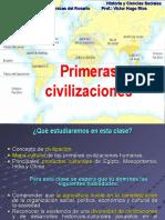 Las Primeras Civilizaciones Ppt