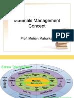 Materials Management Concept