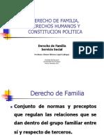 Derecho de Familia y Derechos Humanos