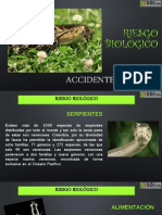 Riesgo Biólogico Accidente Ofídico SGI LTDA