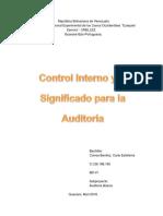 Control Interno, Carla Correa.