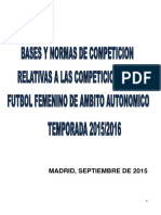 Bases Femeninas 2015-2016