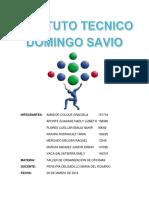 Informe de organización de oficinas