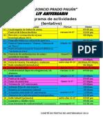 lpprogramadeactividadesaniversarias-140617102832-phpapp01