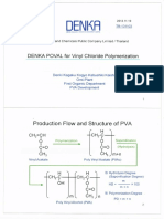 Denka Suspending Agent for PVC synthesis
