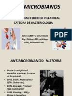 Antibioticos microbiología