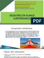 DESASTRES EN PLANOS SUBTERRANEOS (............)