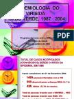 Epidemiologia  VIHSIDA, 1987a 2004 (e)