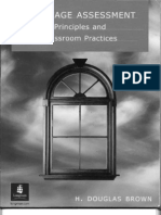 Language Assessment - Principles and Classroom Practice