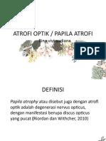 Atrofi Optik Ppt