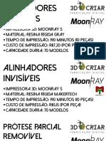 Cartões Moonray - Dental
