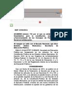 Acuerdo 716 ELSA