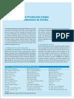 Acuerdo de Produccion Limpia Sector Productores de Cerdos