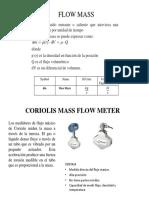 Flow Mass Esp
