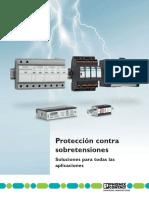 Proteccion Contra Sobre Tensiones _phonixcontac