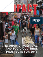 IMPACT Vol47 No01, Economic, Political and Socio-cultural Prospects for 2013