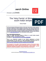 The Holy Family of Shiva in a South Indian Temple - Christ Fuller