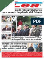 Periódico Lea Martes 03 de Abril Del 2018