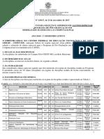 Edital ProcessoSeletivo AlunoEspecial 1SEM2018