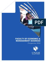 Faculty of Economic Managment Sciences Prospectus 2018 6
