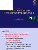 Lect 7 - Optics, Wireless and Satellite Communications-2