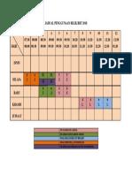Jadual Penggunaan Bilik Rbt 2018