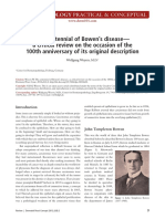 The Centennial of Bowen's Disease
