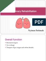 19 20 Pulmonary Rehabilitation Lecture