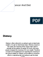 Cancer and Diet-KLP 13