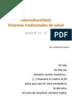 S11-S12 Interculturalidad y Sistemas Tradicionales de Salud
