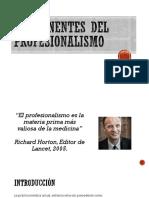Componentes Del Profesionalismo