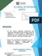 Análisis Lineal de Patrones (Path)